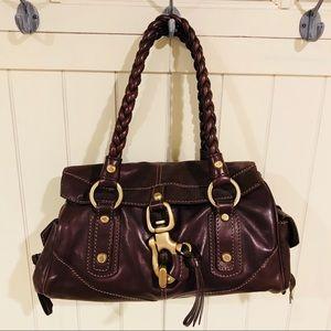 Authentic Francesco Biasia Leather Handbag